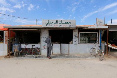 A bakery at Al-Za'tari camp for Syrian refugees in Jordan / Photo by Mustafa Bader